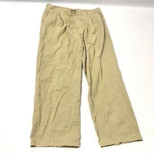 Ermenegildo Zegna Men's Pants 100% Cotton Pleated